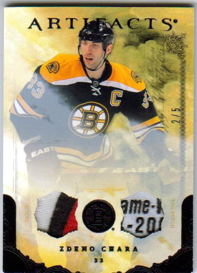 2010-11 UD Artifacts Black Patch/Tag 97 [2/5]