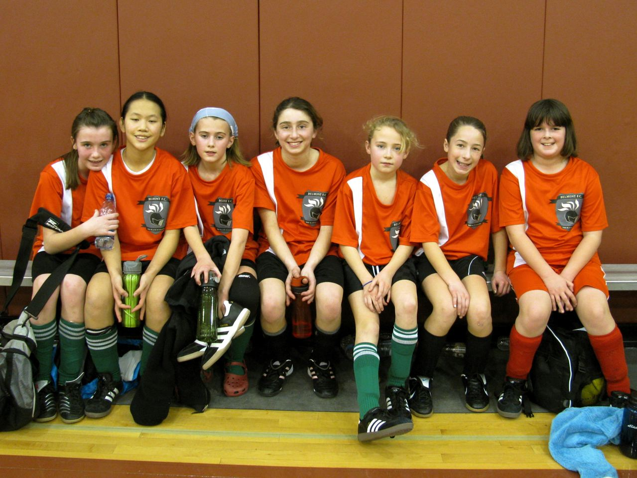 U12 Girls Soccer Team