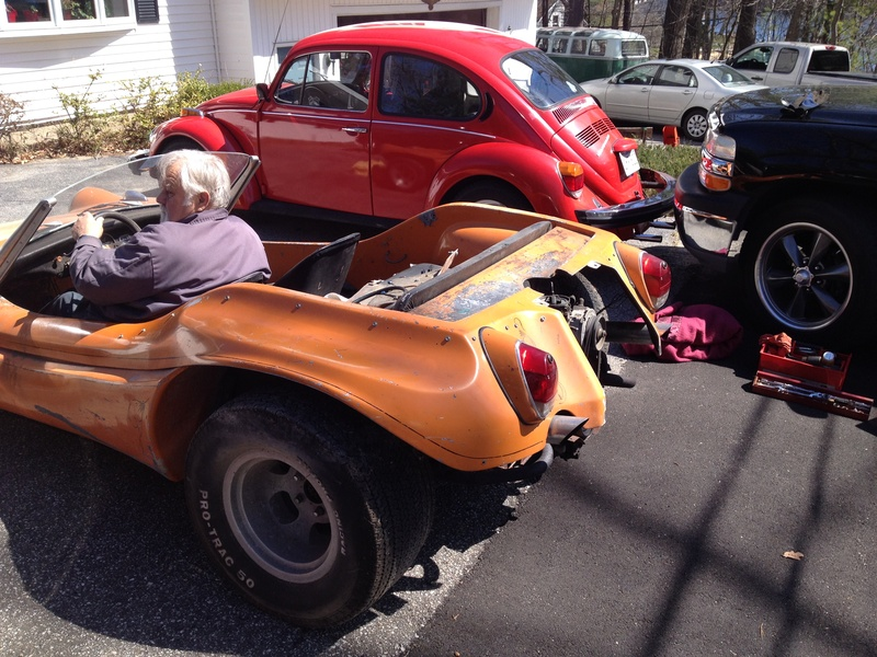 Getting Gerry's orange buggy up and running 4/16/16