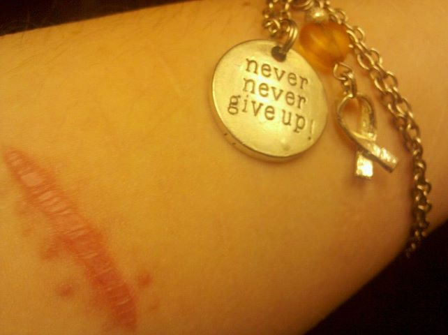 Never Never Give Up!