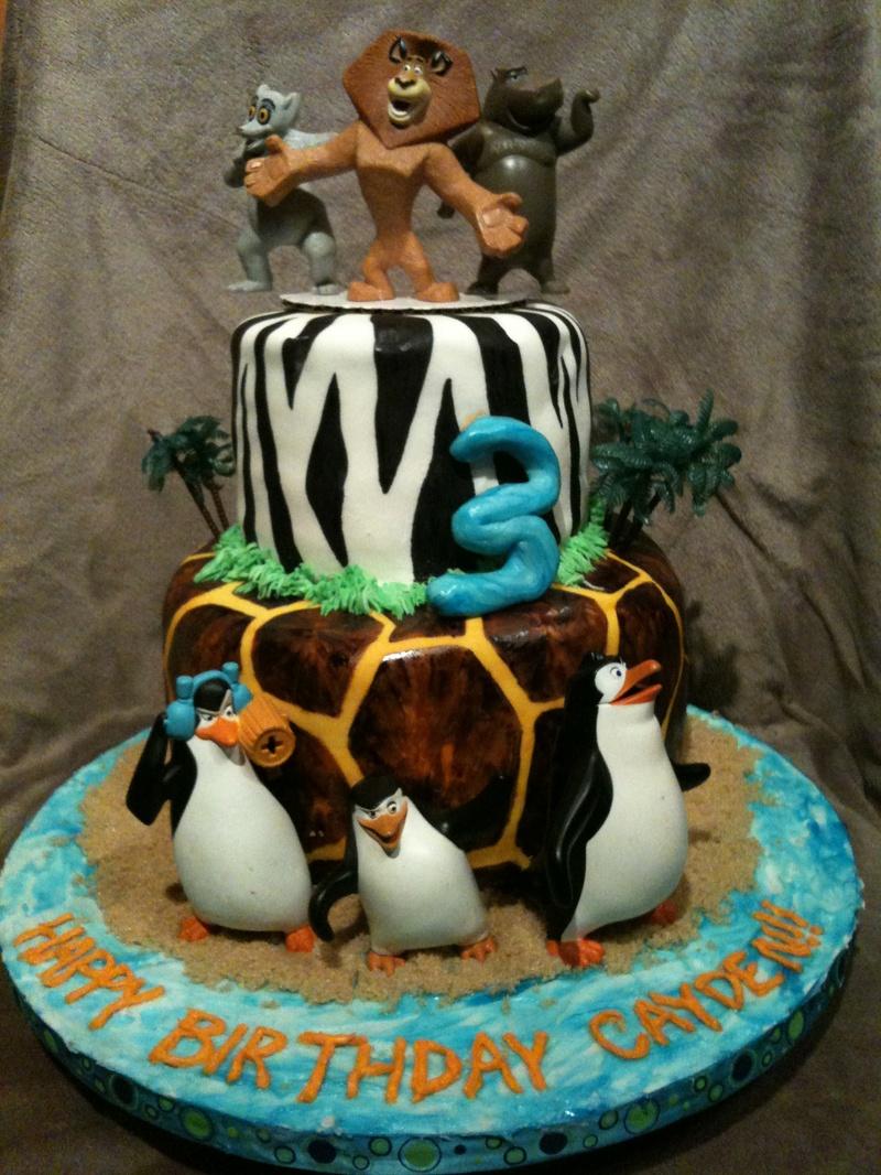 Penguins Of Madagascar Cake Decorating Kit 1 : Pin Baby Boy Cupcake Toppers A Little Something Sweet ...