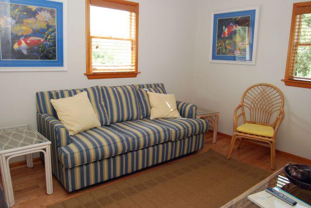 Den on Second Level w/ queen sleeper sofa