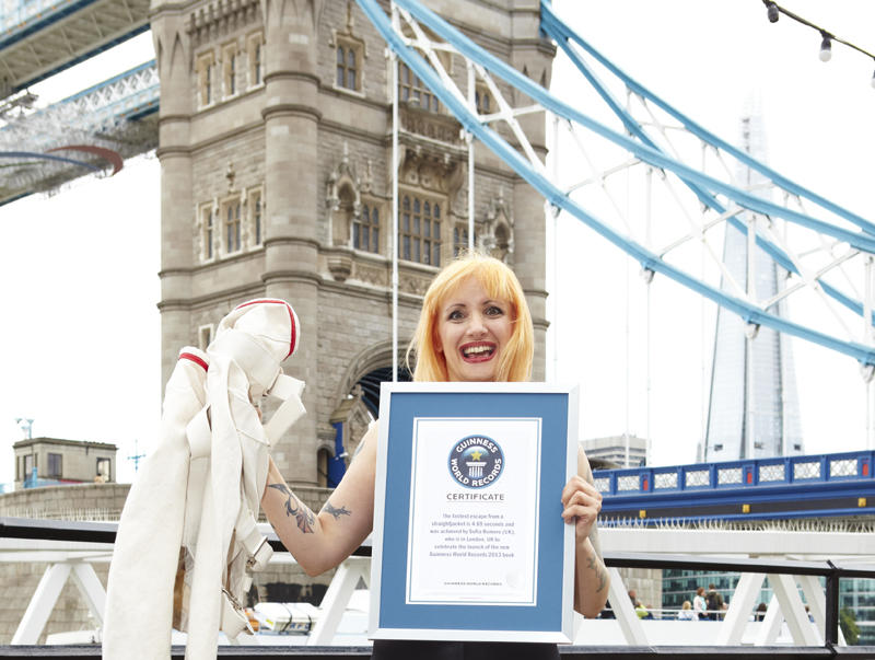 Guinness World Records Book Launch