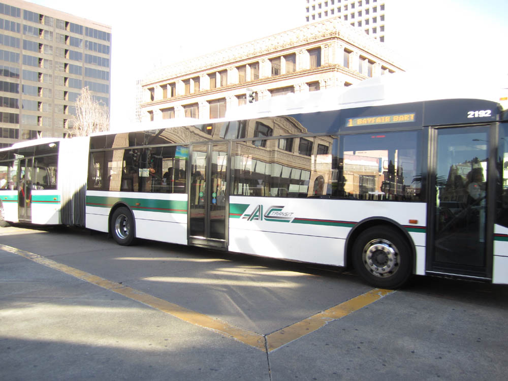 Van Hool 60 Foot Bus