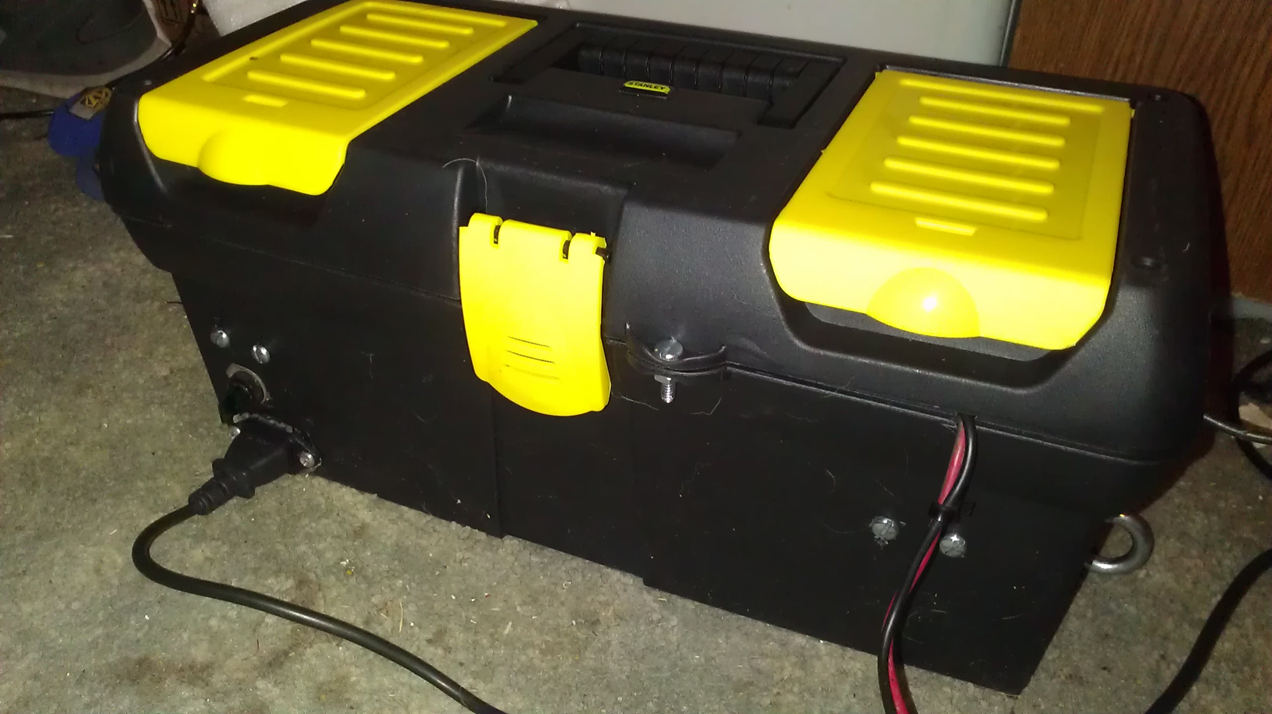 Battery box (outside view)