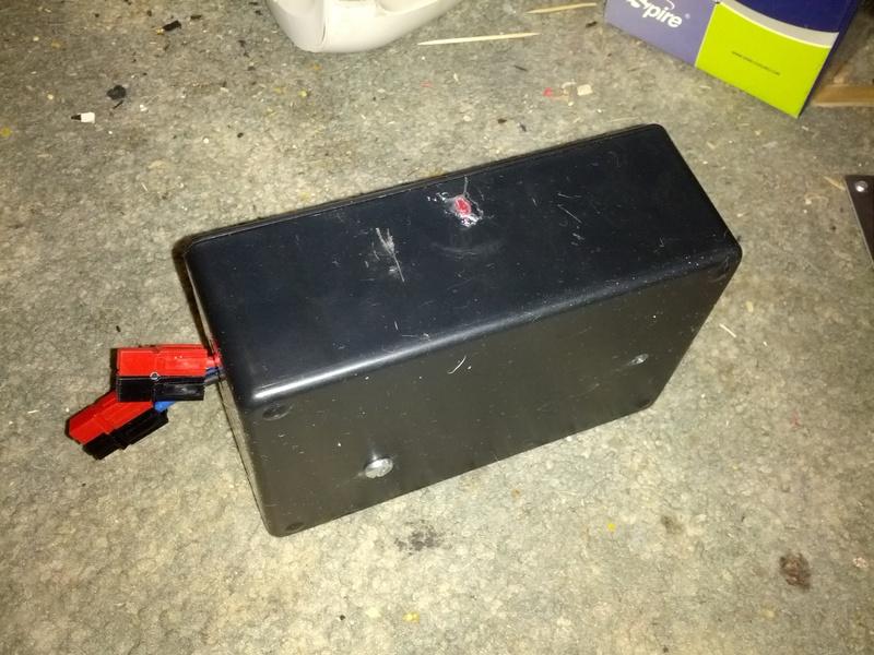 Speed Controller Box (external view)