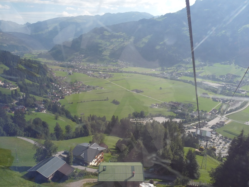 View over Mayrhofen