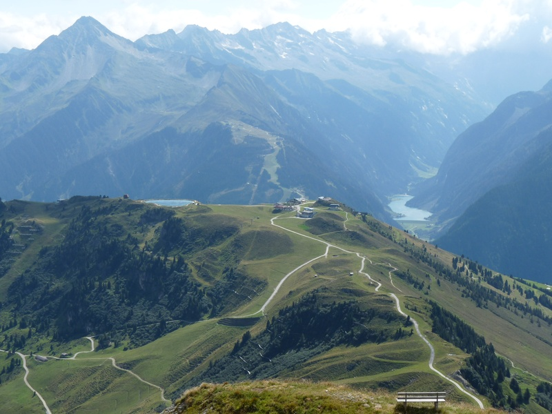View from the Wangl Spitze
