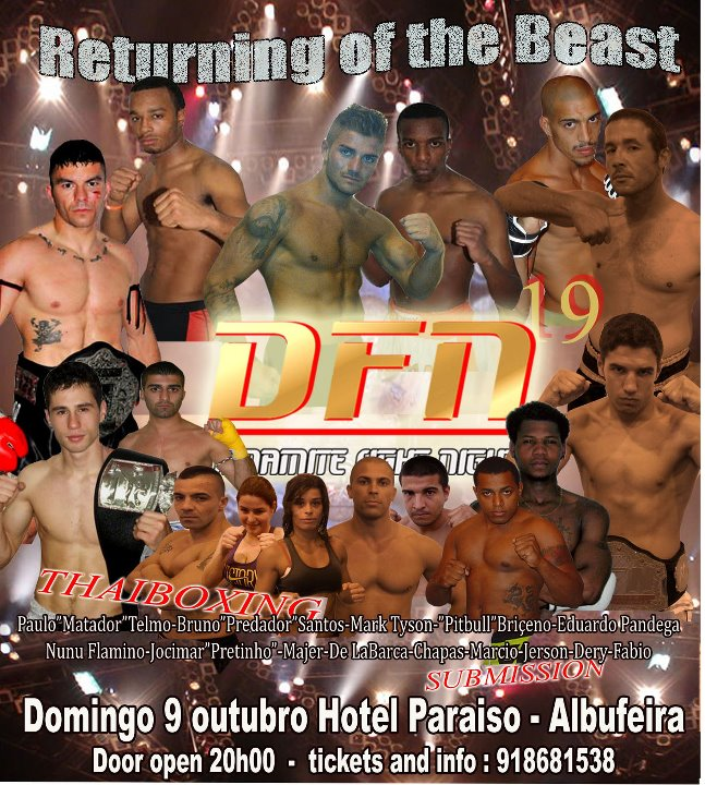 Dynamite Fight Night Portugal