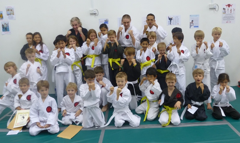 Karate Kids grading at ZDK