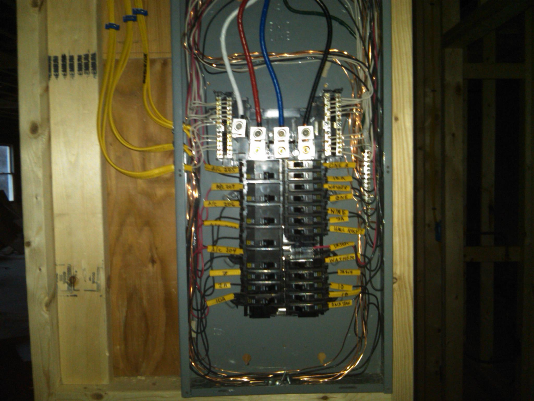 More Panel installation