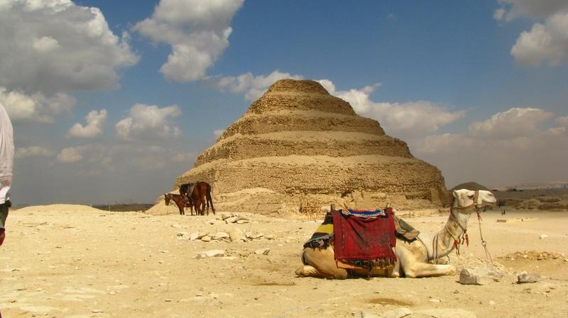 Saqara Piramide escalonada