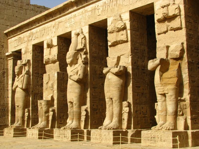 Antiguo Tebas en Luxor