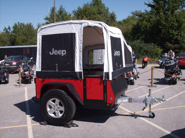 Jeep off road campers