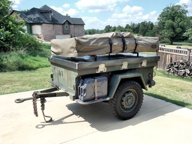 Trailer updated with a large CVT RTT - 4X Overland Adventures