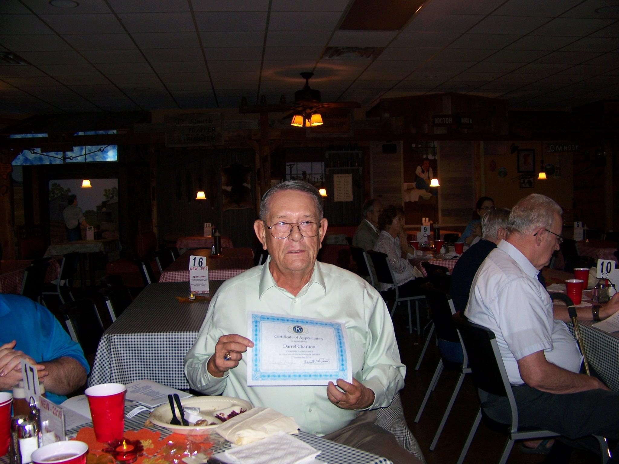 Darrel Charlton, Board Member