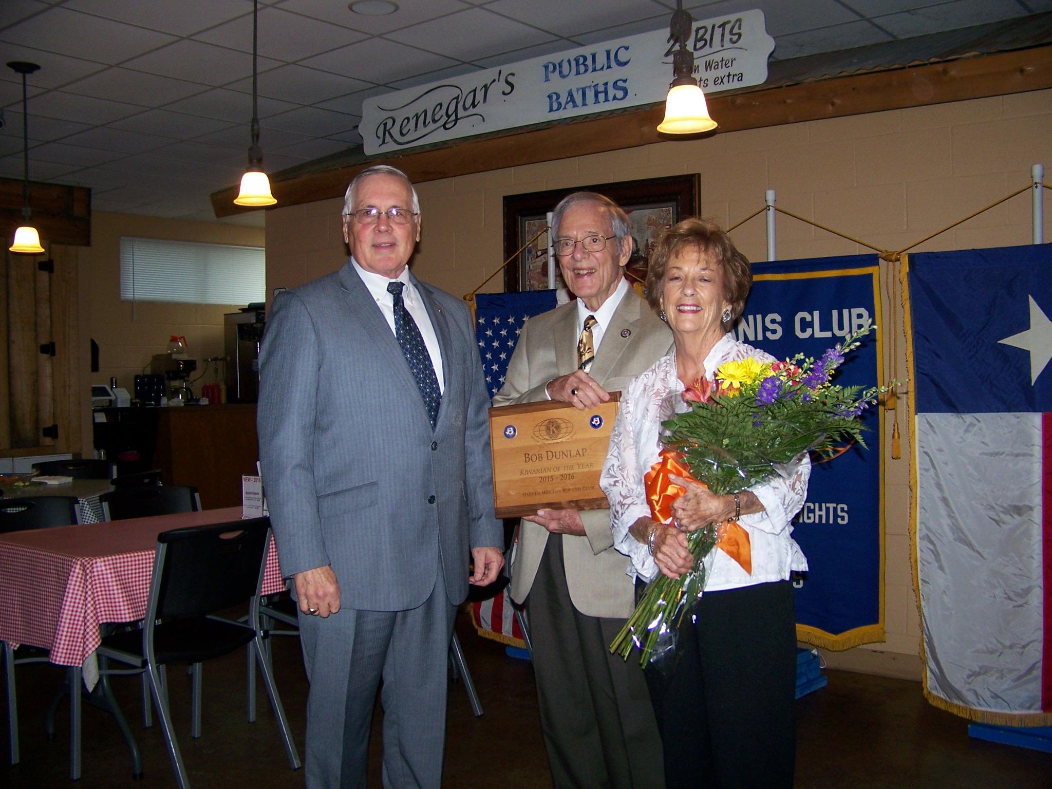 David McClure, Bob Dunlap & Sue Dunlap