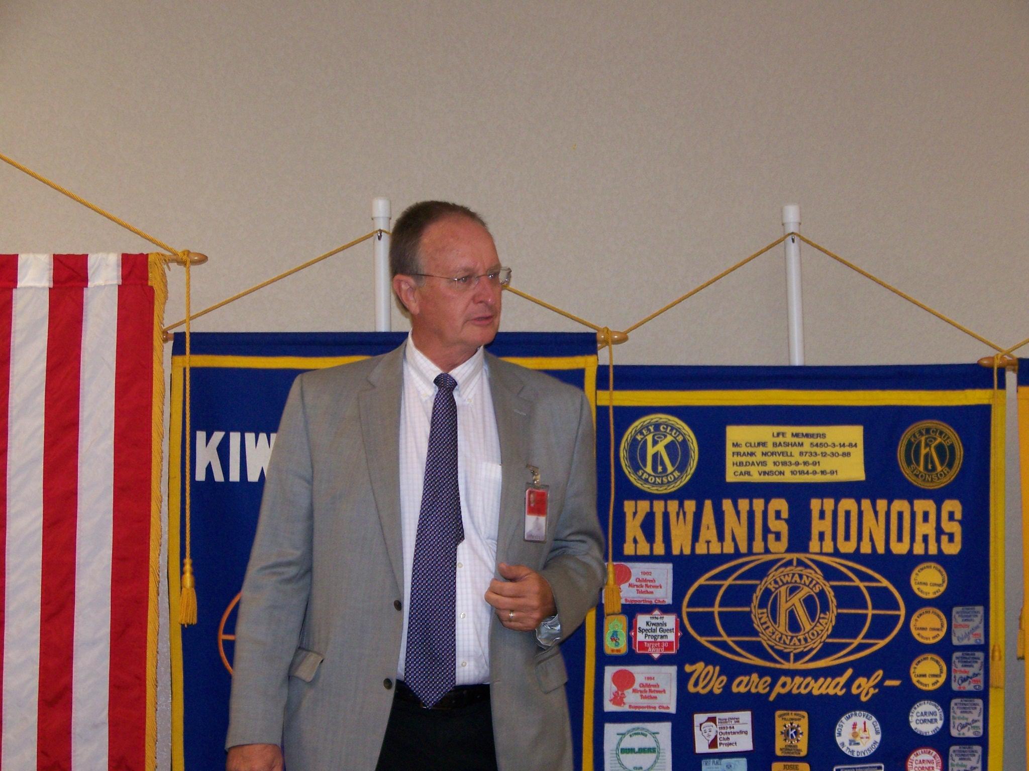 Principal Larry Brazzil