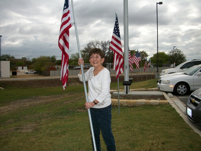 Columbus Day Flag Service 2011