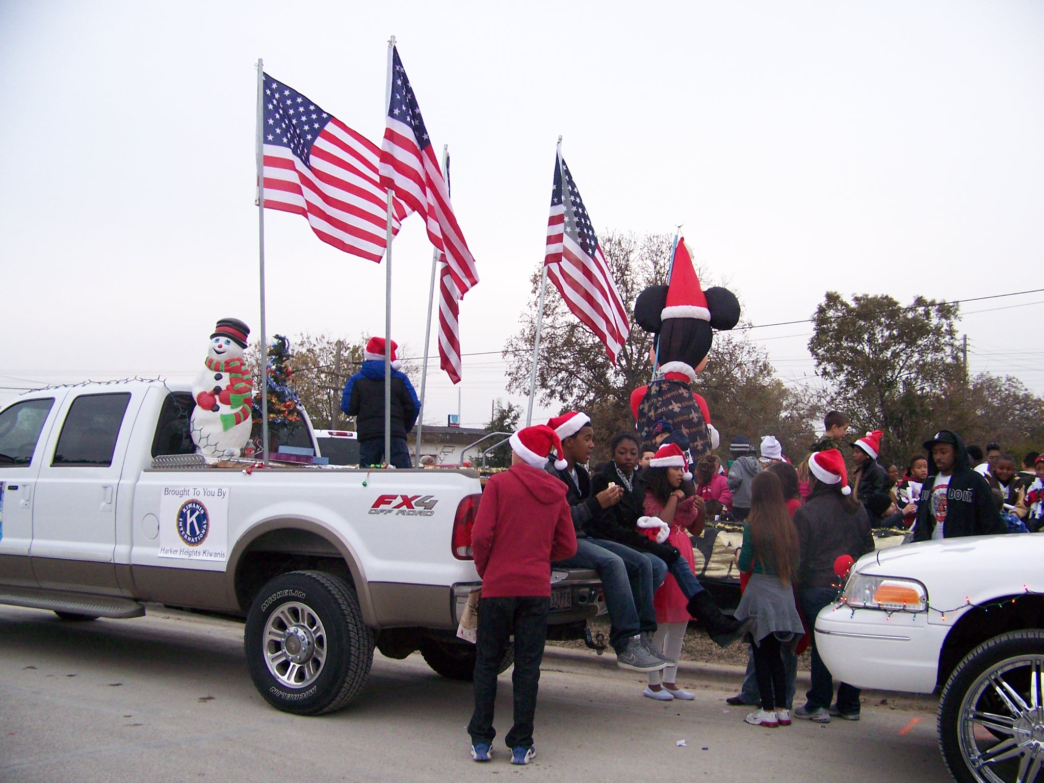 Killeen Christmas Parade 2011