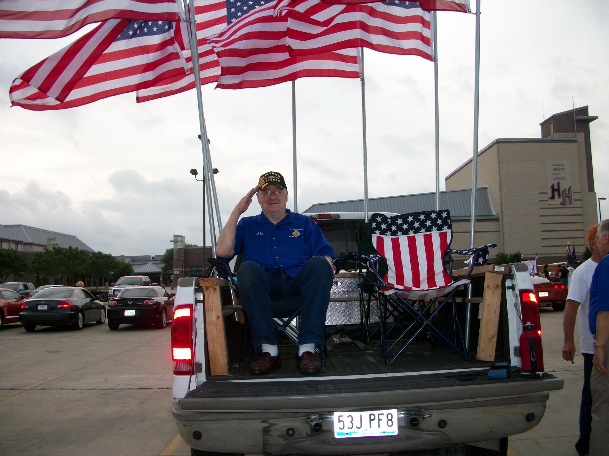 Dick Dinwiddie -HH Memorial Day Parade