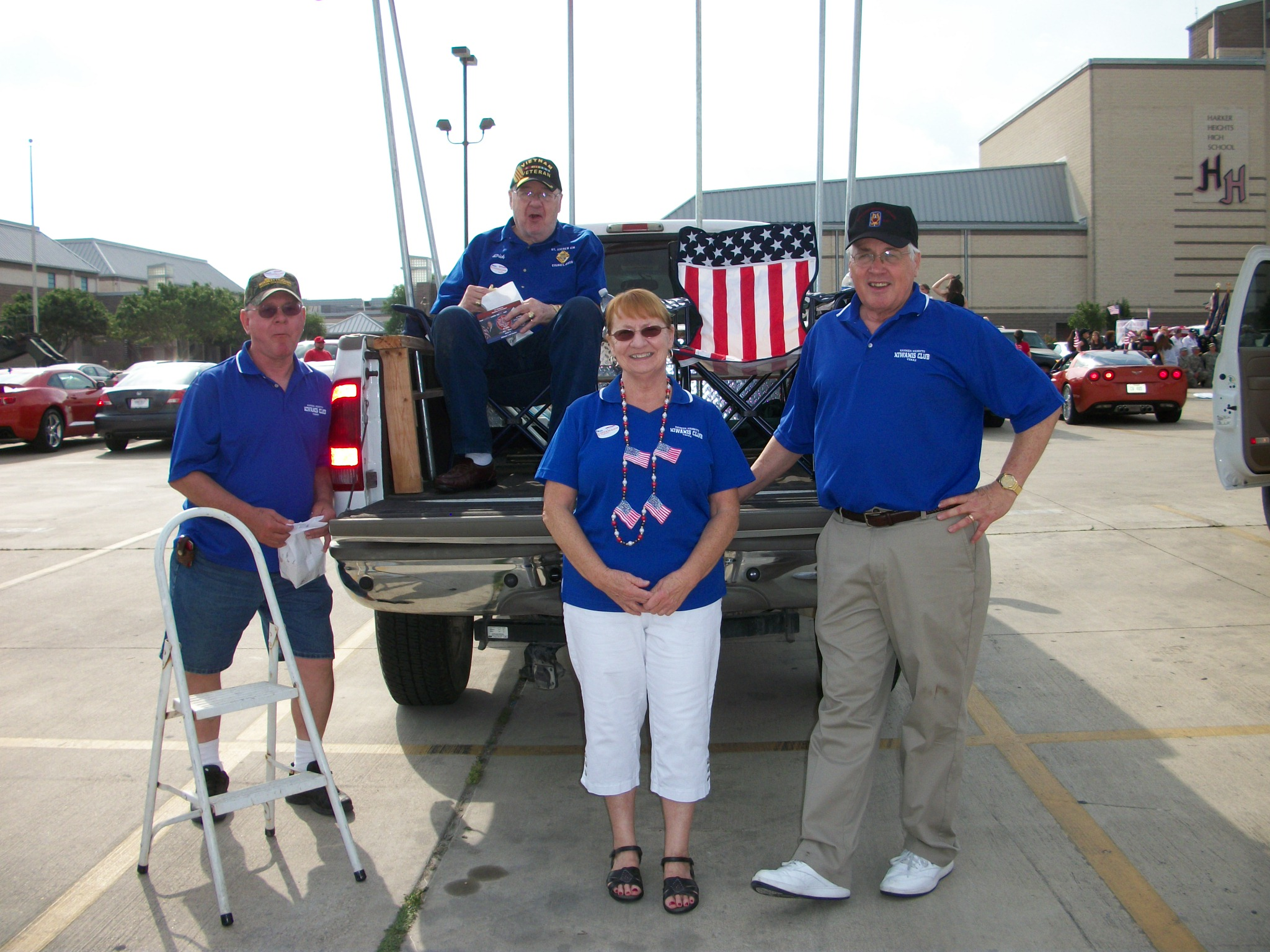 Kiwanis Team for the Parade 2012
