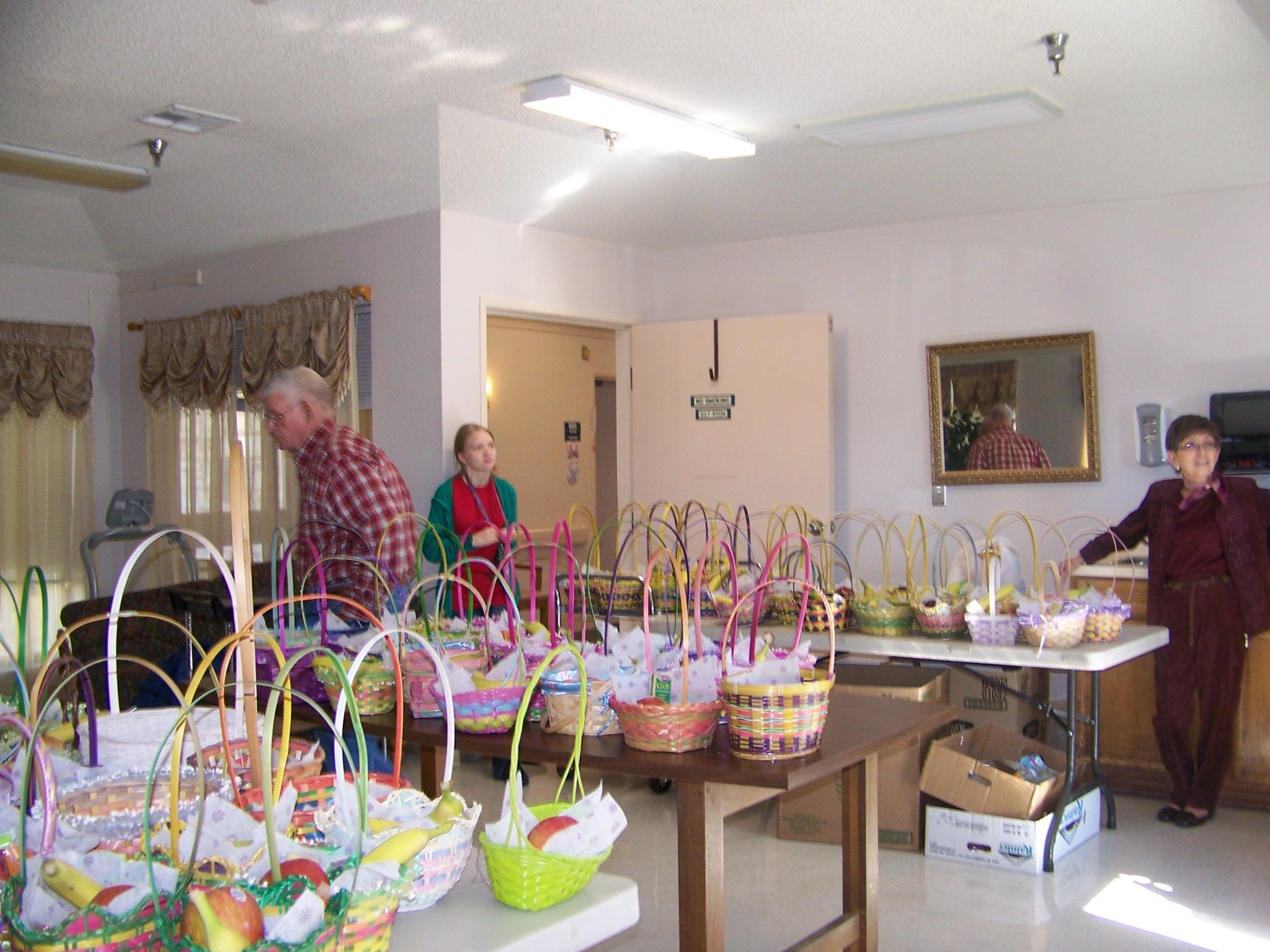 Easter Basket at Indian Oaks 2013