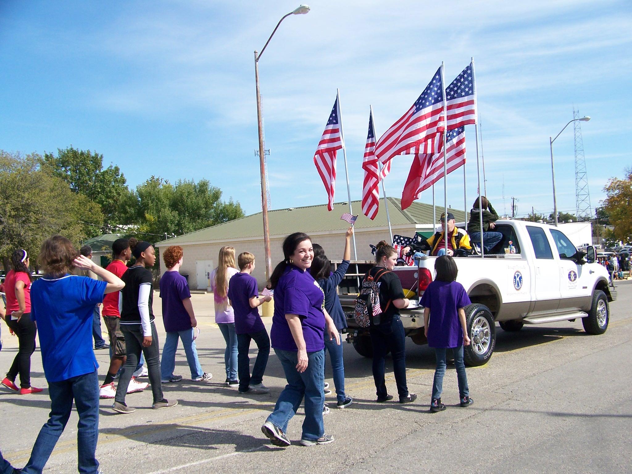 Veteran's Day Parade 11-11-13
