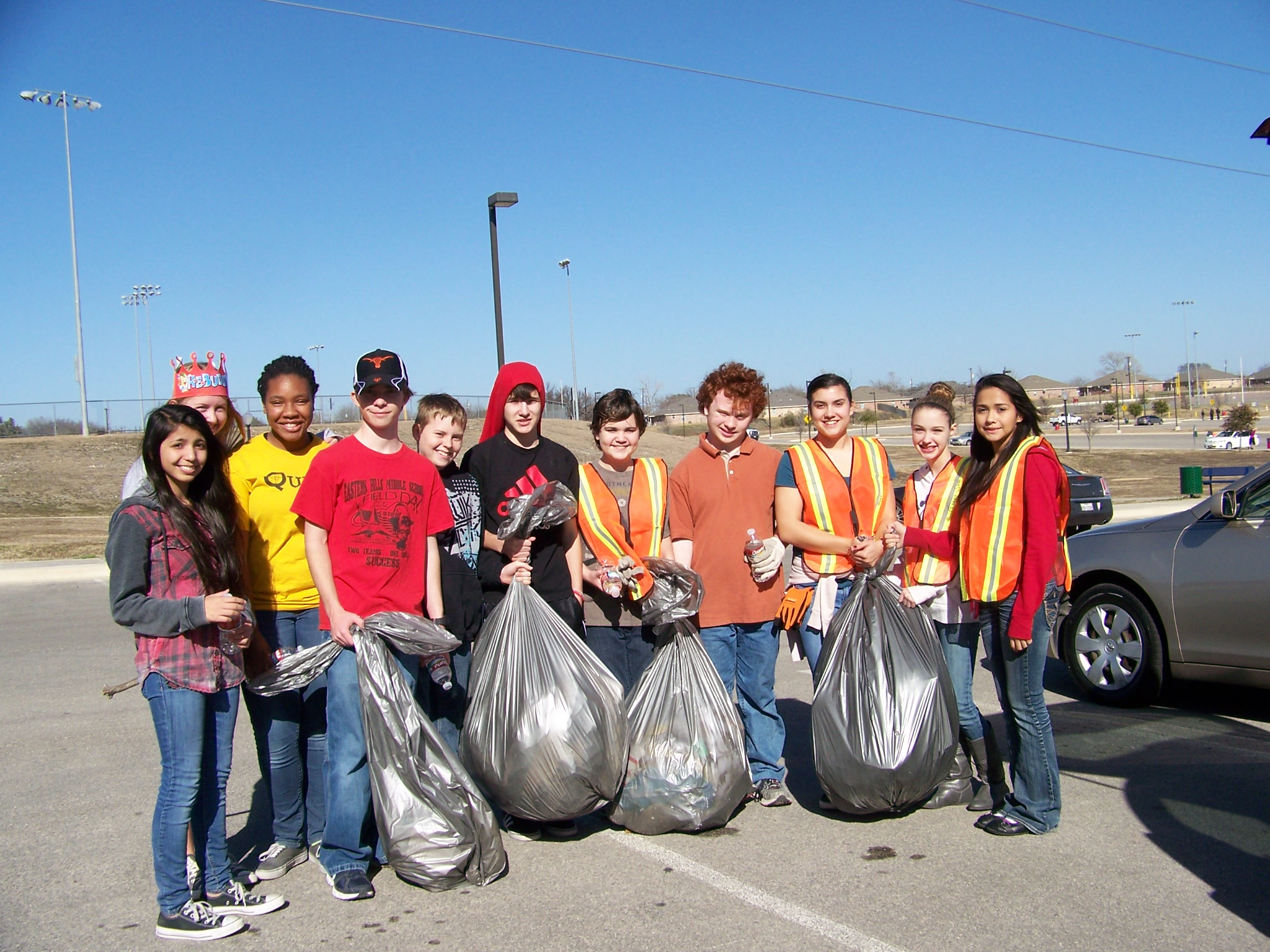 January Adopt a Spot - What an awesome job they did