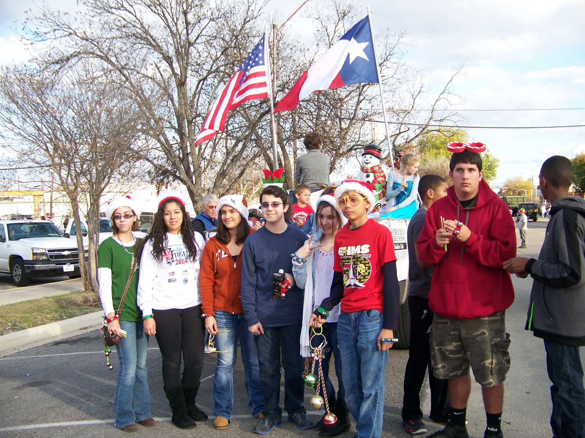 Killeen Christmas Parade 2014