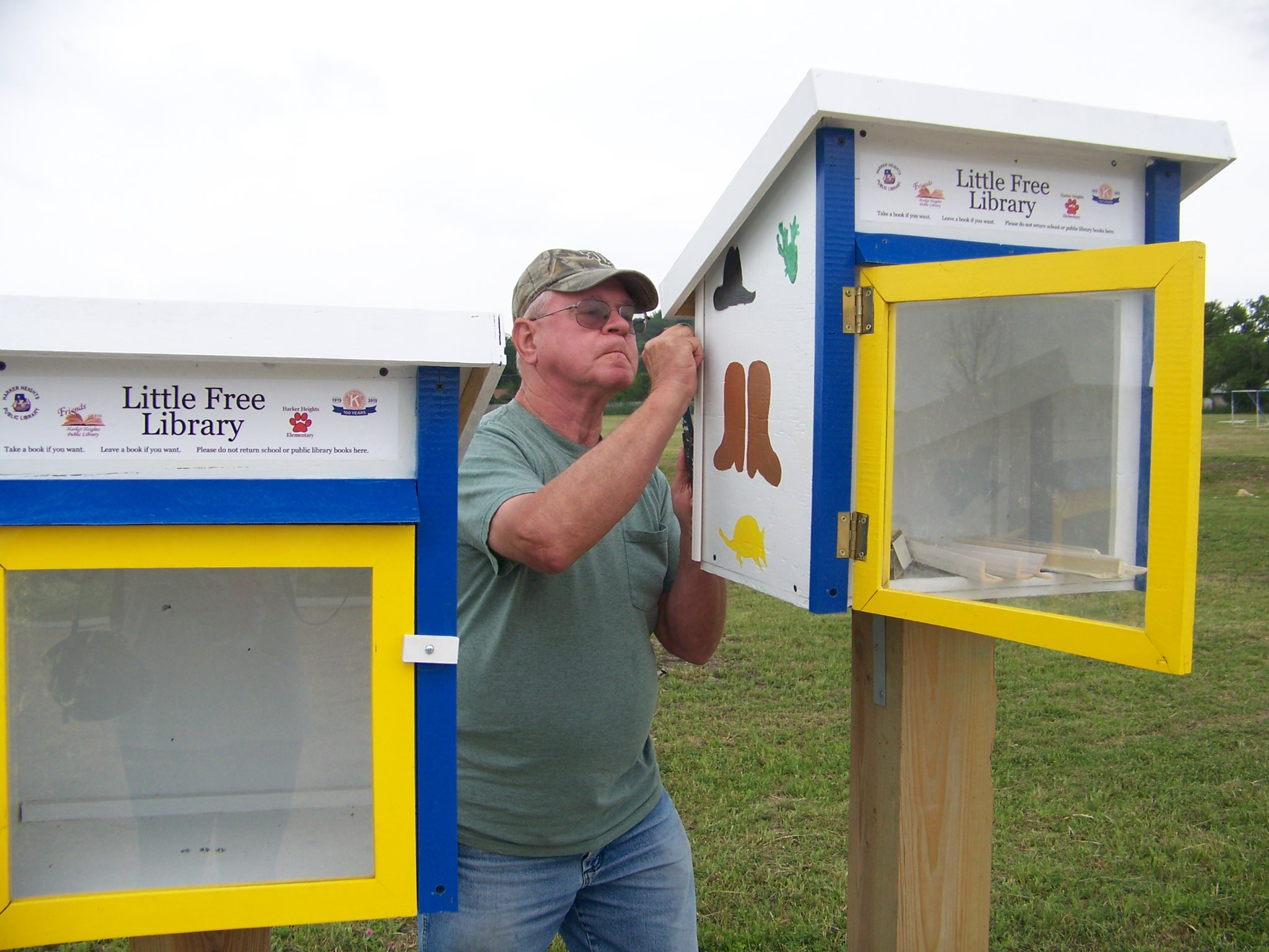 Norm Dunbar - Little Free Libraries