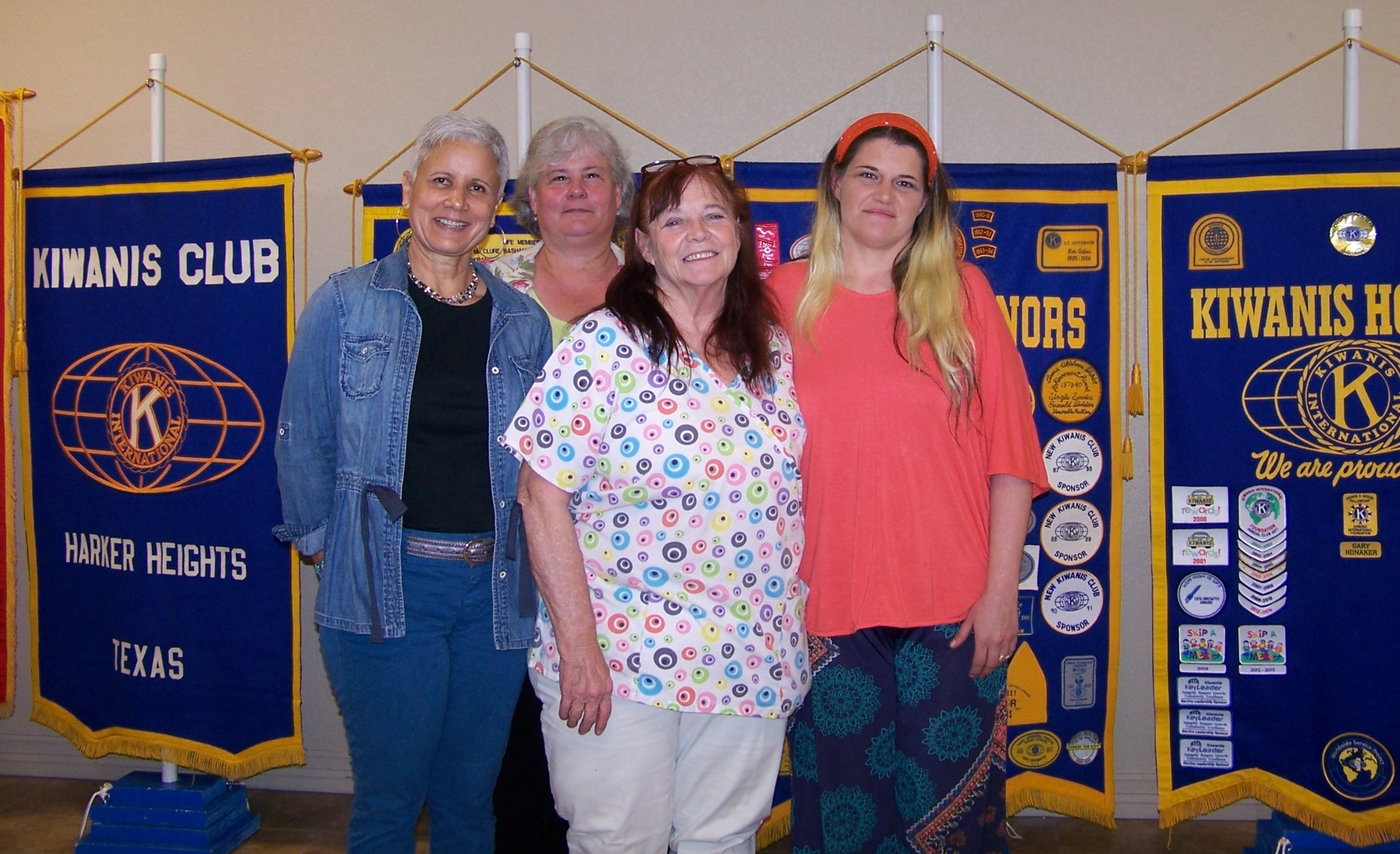 Cynthia Holland,Elizabeth Berkhoudt,Linda Dawson, Vanisse Higginbotham