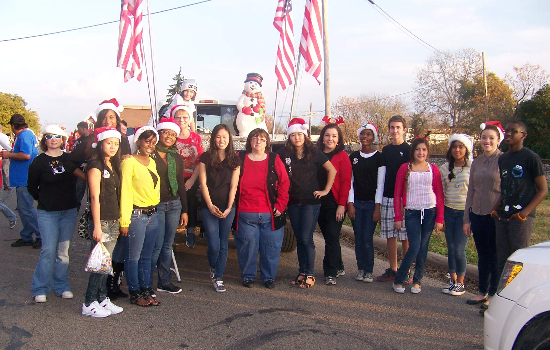 Killeen Christmas Parade 2012