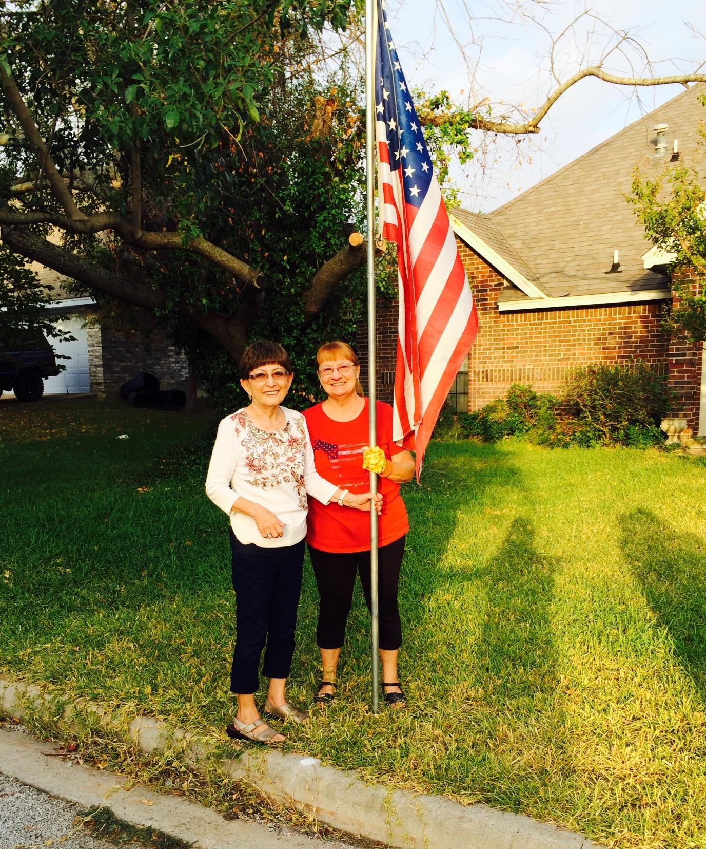 Flag Program Labor Day 2014