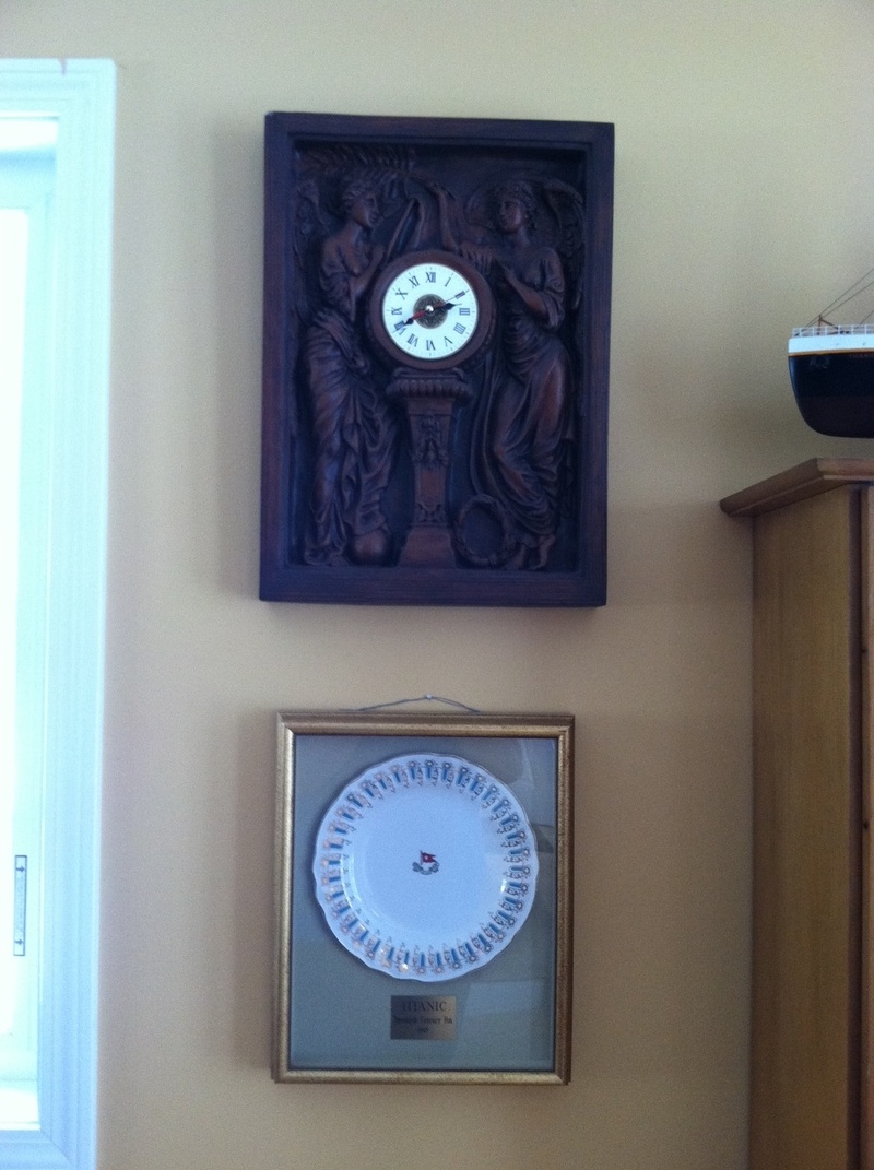 Grand Staircase Clock Replica 1/2 scale