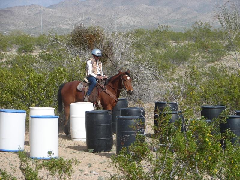 Working around the barrels
