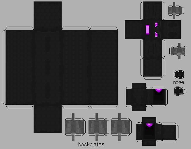 enderdragon part 2 - Minecraft Papercraft