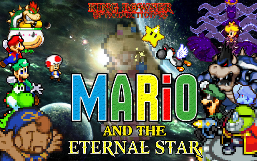 Mario and The Eternal Star poster