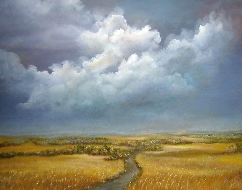 Impressionist landscape paintings for Artwork landscapes