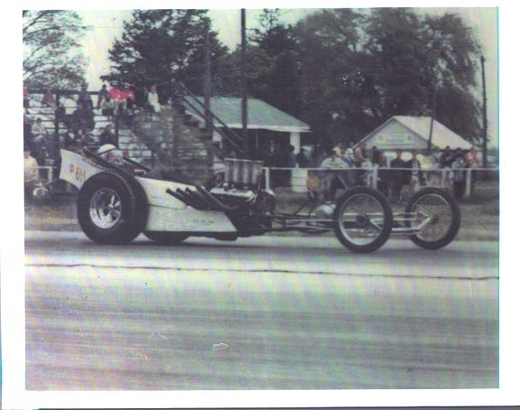 Ron D.'s dragster