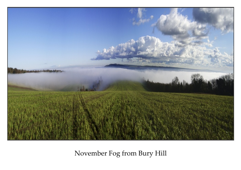 Fog from Bury hill
