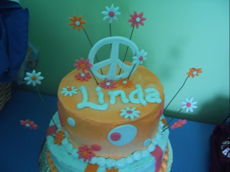 """Hippy"" cake"
