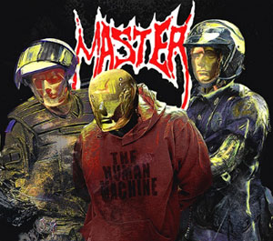 MASTER - The Human Machine LP