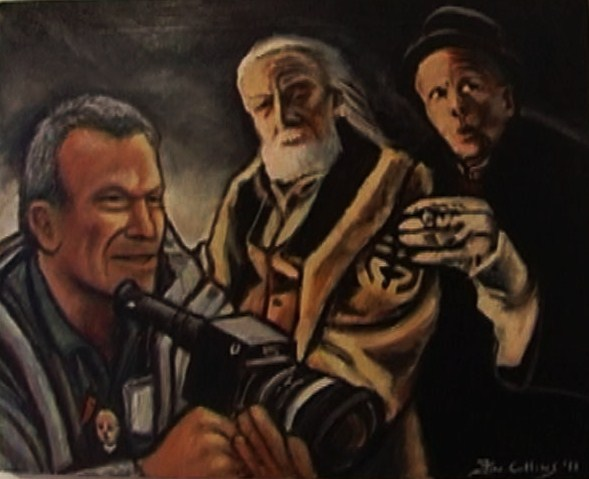"""Terry Gilliam"", ""Christopher Plummer"", and ""Tom Waits"","