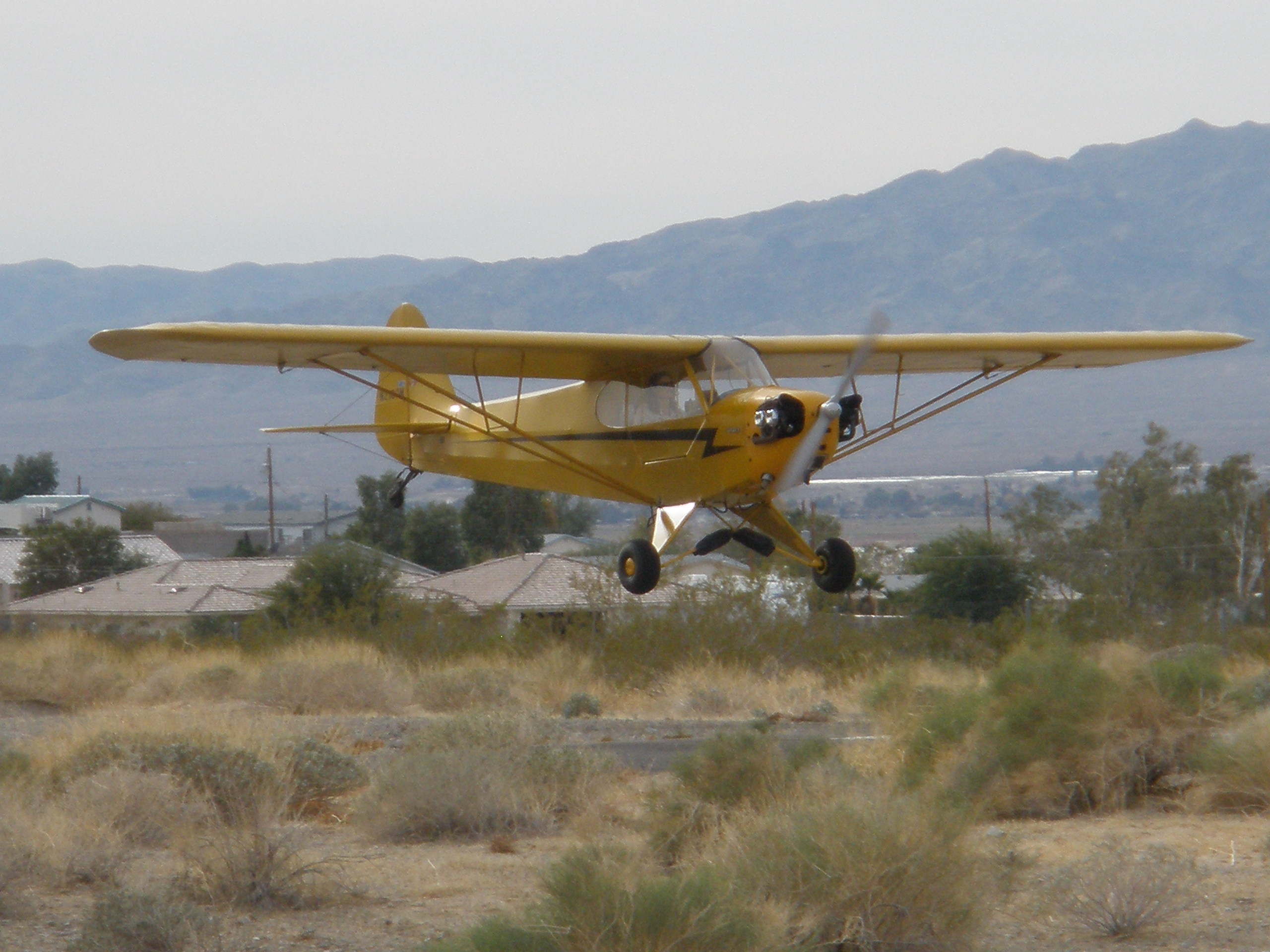 N2180M Landing at Sun Valley Airport (A20) AZ