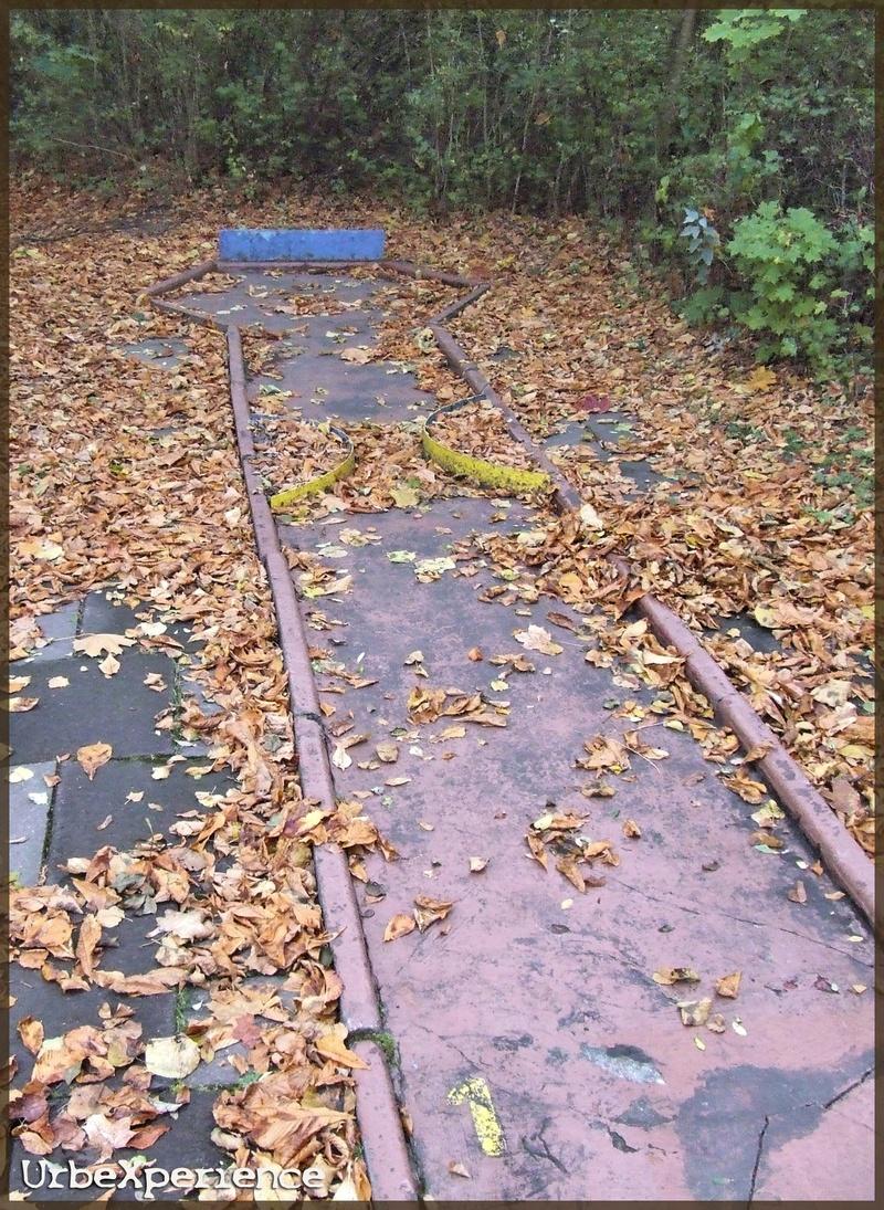 Abandoned Minigolf