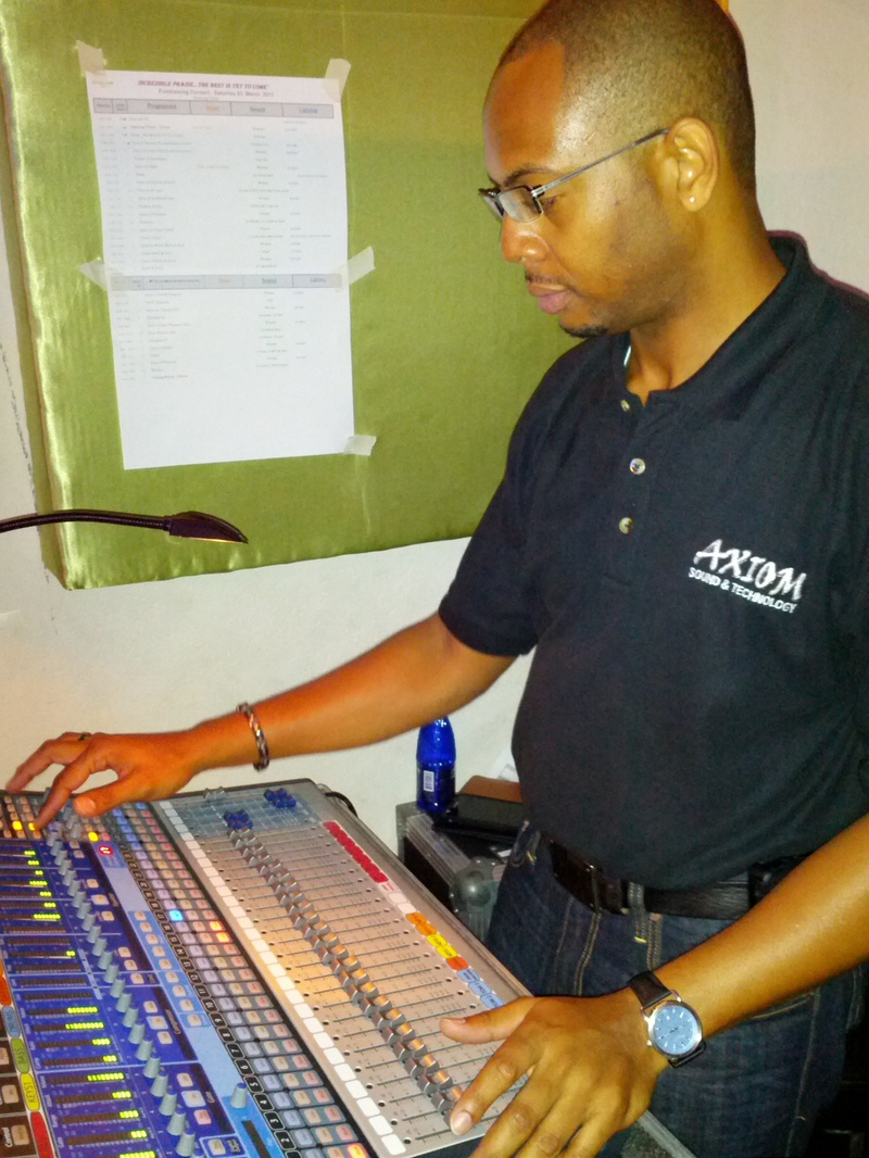 Stage mixmaster Rommell