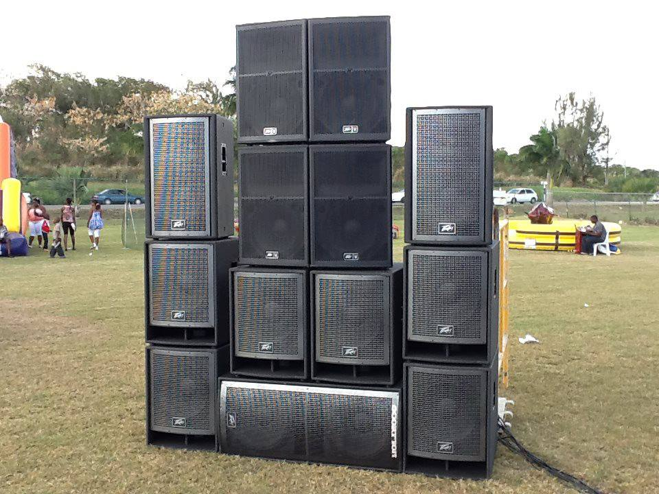 System For Large Out Door Events