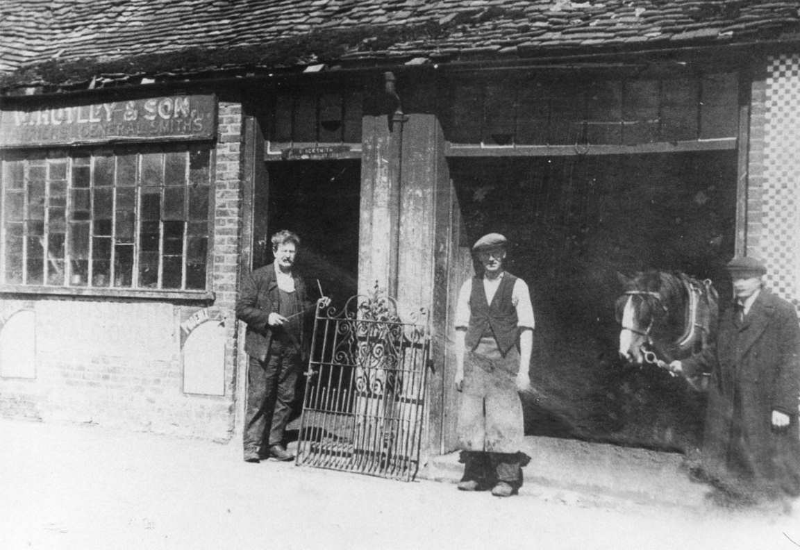 Blacksmith forge - Sawbridgeworth mid 1950s