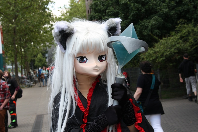 Yukico on the Japanday Duesseldorf 2012